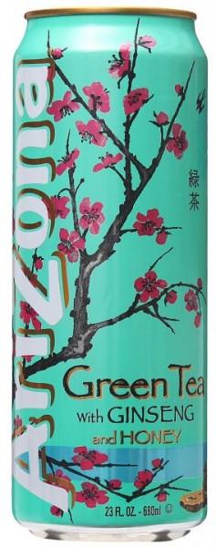 Arizona Green Tea with Ginseng and Honey 680 ml USA