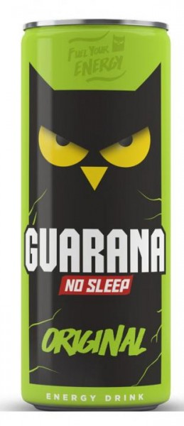 GUARANA No Sleep Original Energy Drink 250 ml Kroatien