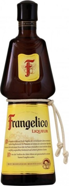 Frangelico Haselnusslikör 70 cl / 20 % Italien