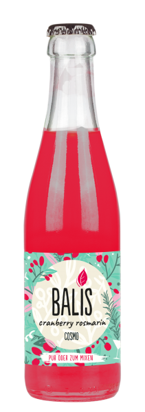 BALIS COSMO Cranberry Rosmarin Drink Vegan 250 ml Deutschland