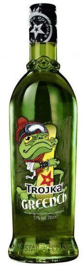 TROJKA GREENCH HOT DRINK Vodka Likör 70 cl / 17 % Schweiz