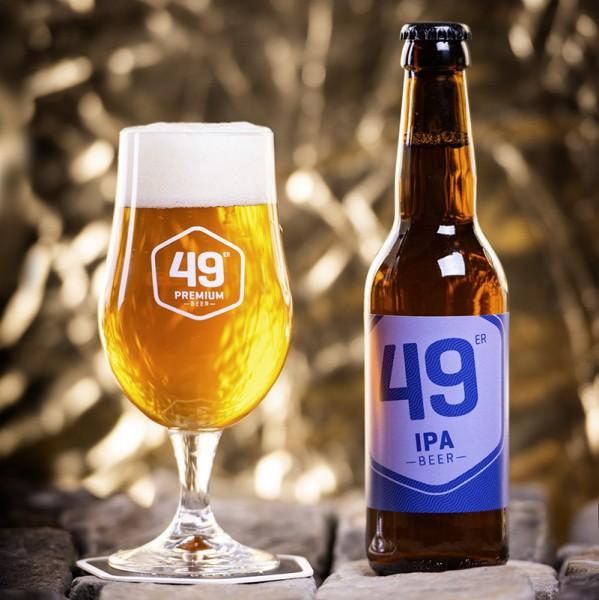 49 er Premium Bier IPA Kiste 20 x 330 ml / 6.5 % Schweiz