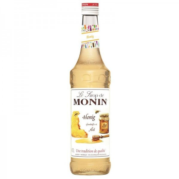MONIN Premium Miel / Honey Sirup 70 cl Frankreich