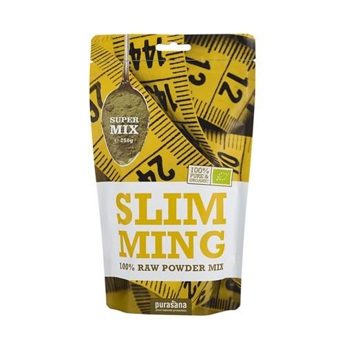 Purasana Superfood SLIMMING Super Mix 100 % Raw Powder BIO 250 Gramm