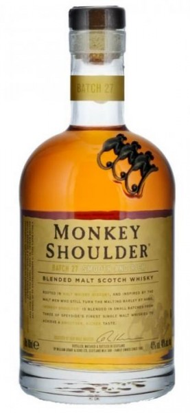 MONKEY SHOULDER SMOKEY MONKEY Blended Malt Scotch Whisky 70 cl / 40 % Schottland