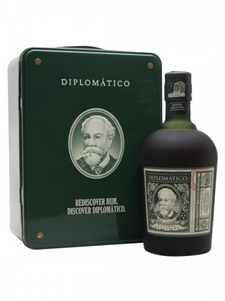 DIPLOMATICO Rum Reserva Exclusiva in BLECH Box 70 cl / 40 % Venezuela