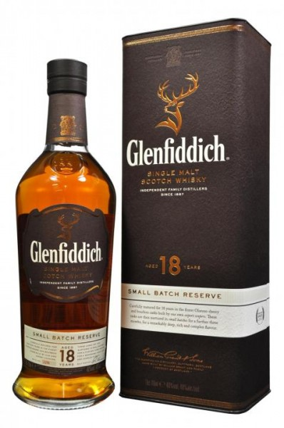 Glenfiddich 18 Single Malt Scotch Whisky 70 cl / 40 % Schottland