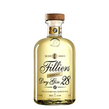 Filliers Dry Gin 28 Botanicals BARREL AGED 50 cl / 43.7 % Belgien