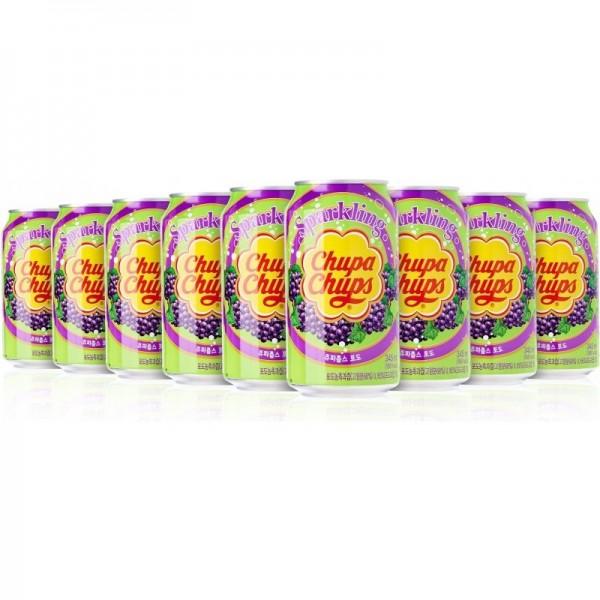 Chupa Chups GRAPE Kiste 24 x 345 ml Korea