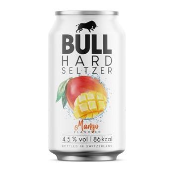BULL Hard Seltzer MANGO 330 ml / 4.5 % Schweiz