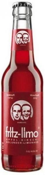 fritz-limo Apfel - Kirsch- Holunder Limonade 330 ml Deutschland