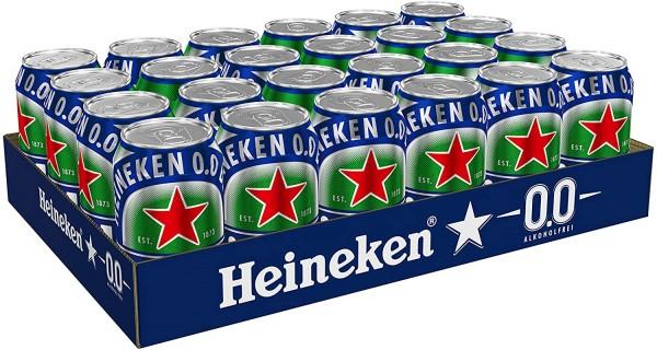 Heineken 0.0 % ALKOHOLFREI Dose Kiste 24 x 500 ml Holland