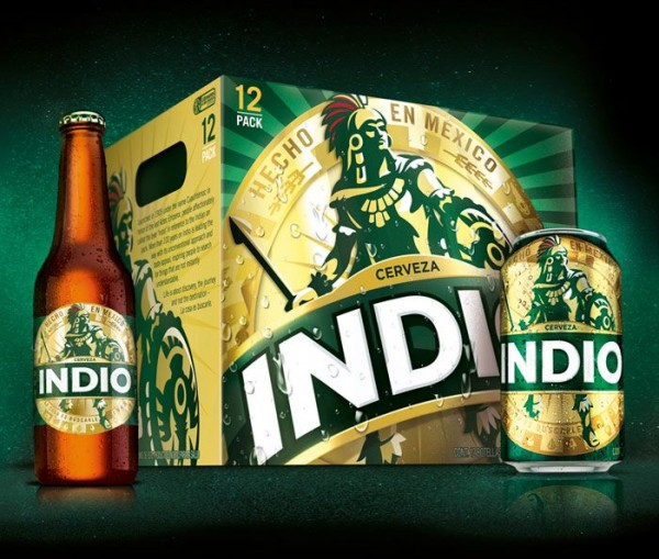INDIO Lager Beer Kiste 24 x 355 ml / 4.1 % Mexiko
