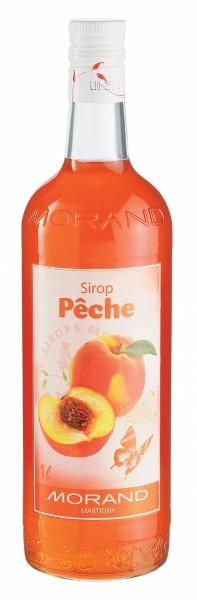 MORAND Sirop de PECHE - Pfirsich 100 cl Schweiz