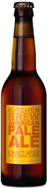 Kitchen Brew AMERICAN PALE ALE 24 x 330 ml / 5.5 % Schweiz