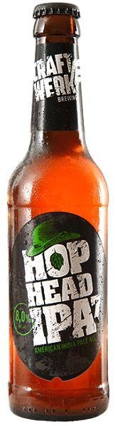 Craftwerk HOP HEAD IPA7 330 ml / 8 % Deutschland