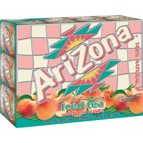 Arizona Iced Tea Peach Flavor Kiste 24 x 680 ml USA