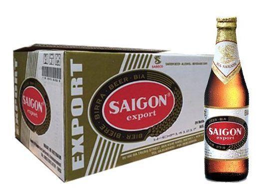 SAIGON export Lager Beer Case 24 x 355 ml / 4.9 % Vietnam