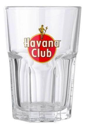 Havana Club Mojito Glas mit Eichung 2 & 4 cl