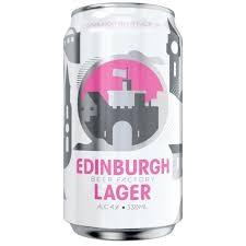 EDINBURGH BEER FACTORY Craft Lager Can 330 ml / 4.0 % UK