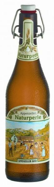 Appenzeller Naturperle Bio Naturtrüb Bügelflasche 15 x 500 ml / 4.8 % Schweiz