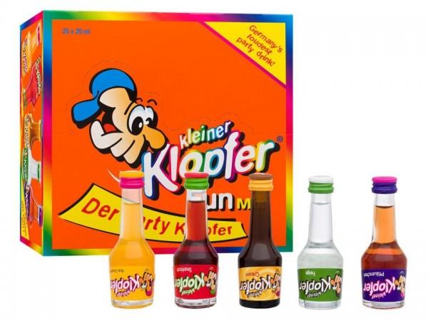 Kleiner KLOPFER FUN Mix Box 25 x 2 cl / 16 % Italien