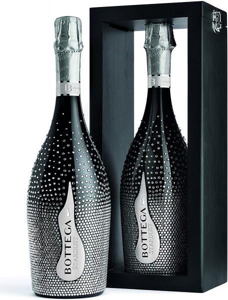 Bottega STARDUST Prosecco Special Edition mit Holzrahmen Magnum 1.5 Liter / 11 % Italien