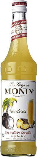 MONIN Premium Pina Colada Sirup 70 cl Frankreich