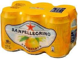 SanPellegrino L'Aranciata Kiste 24 x 330 ml Italien