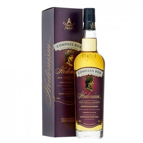 Compass Box HEDONISM Blended Grain Whisky 70 cl / 43 % Schottland
