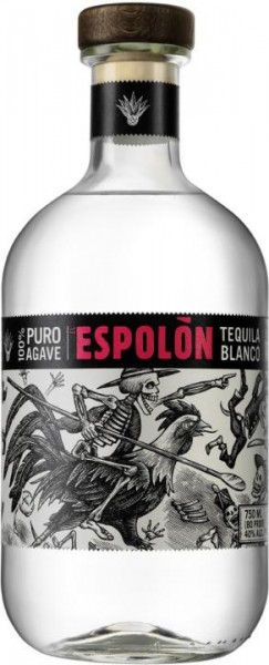 EL ESPOLON Tequila Blanco 70 cl / 40 % Mexiko