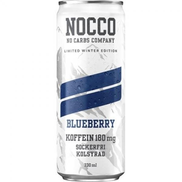 NOCCO BCAA Blueberry 330 ml Schweden