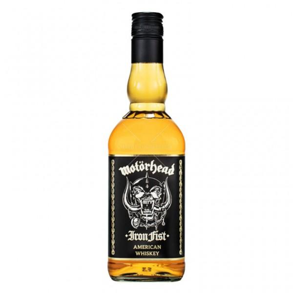 Motörhead IRON FIST American Whiskey 70 cl / 40 % Schweden