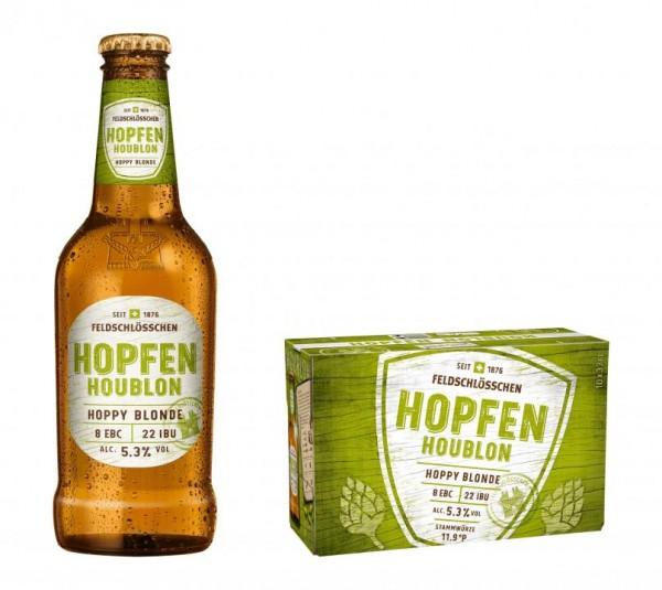 Feldschlösschen HOPFEN Hoppy Blonde 330 ml / 5.3 % Schweiz