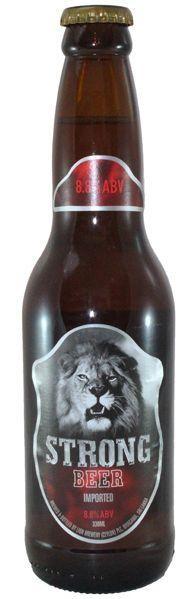 LION STRONG Beer 330 ml / 8.8 % Sri Lanka