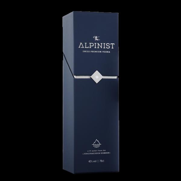 The ALPINIST Premium VODKA mit edler Verpackung 70 cl / 42 % Schweiz