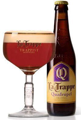La Trappe TRAPPIST Quadrupel Trappistenbier 330 ml / 10 % Belgien