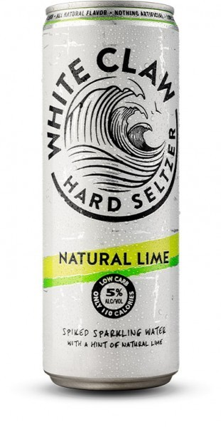 White Claw HARD SELTZER NATURAL LIME Dose 355 ml / 5 % USA