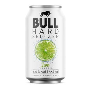 BULL Hard Seltzer LIME 330 ml / 4.5 % Schweiz