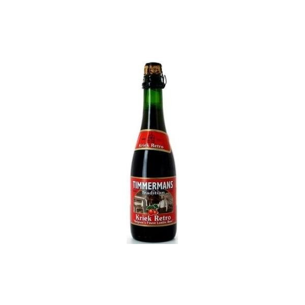 TIMMERMANS Kriek Retro Lambicus Bier 12 x 375 ml / 5 % Belgien