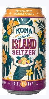 Kona Island Hard Seltzer PASSIONFRUIT ORANGE GUAVA 355 ml / 5 % Hawaii