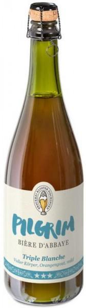 PILGRIM BIÈRE D`ABBAYE Triple Blanche 75 cl / 10.5 % Schweiz