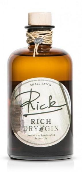 RICK RICH BIO Dry Gin 50 cl / 43 % Österreich