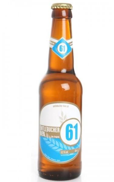 ENTLEBUCHER Bier 61 das Original Kiste 24 x 330 ml / 5.2 % Schweiz