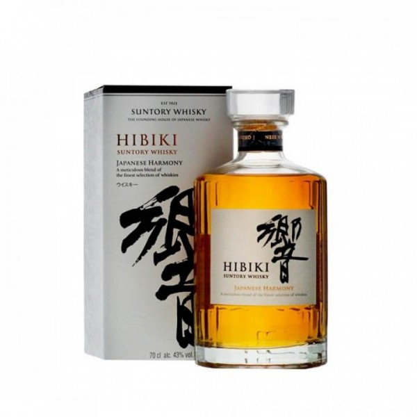 SUNTORY HIBIKI Harmony JAPANESE BLEND Whisky 70 cl / 43 % Japan