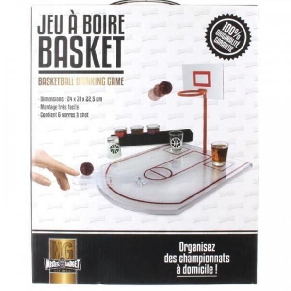 Trinkspiel Basketball mit 6 Gläsern 24 x 31 x 22.5 cm by Mister Gadget