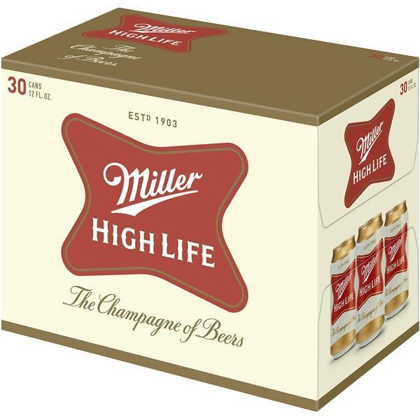 Miller HIGH LIFE one Quart Case 12 x 946 ml / 5 % USA