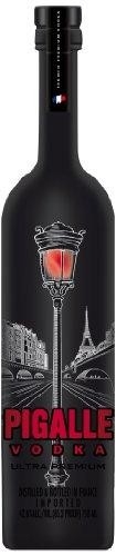 Pigalle ULTRA Premium Vodka RED LAMP POST DESIGN MAGNUM 1.75 Liter / 42,6 % Frankreich