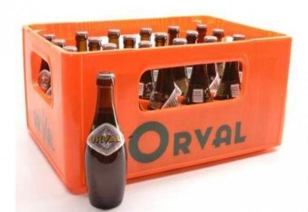 ORVAL Trappistenbier Kiste 24 x 330 ml / 6.2 % Belgien