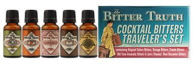 The Bitter Truth Bitters Travel Pack Cocktail Bitters 5 x 20 ml / 38.2 % Deutschland